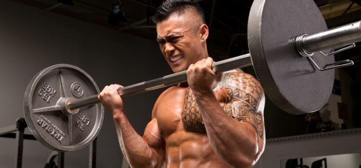 Exercises in bodybuilding