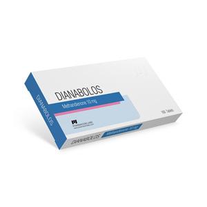 Dianabolos 10 Methandienone oral (Dianabol)