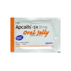 Apcalis SX Oral Jelly Tadalafil
