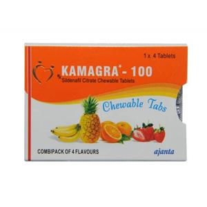 Kamagra Chewable Sildenafil Citrate
