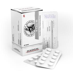 Magnum Clen-40 Clenbuterol hydrochloride (Clen)
