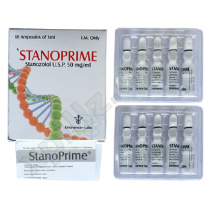 Stanoprime Stanozolol injection (Winstrol depot)