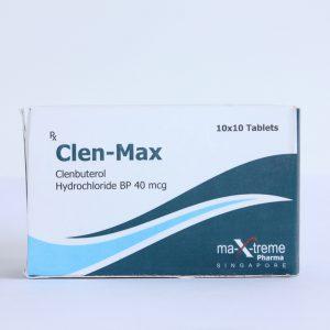 Clen-Max Clenbuterol hydrochloride (Clen)