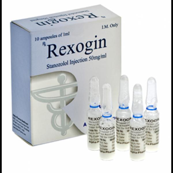 Rexogin Stanozolol injection (Winstrol depot)