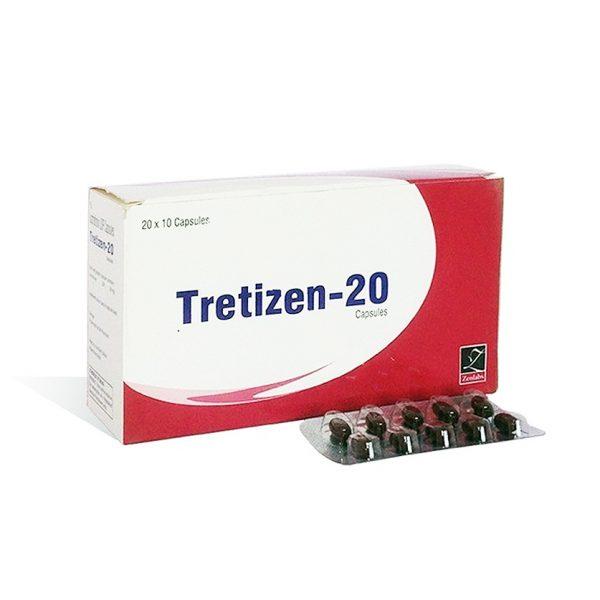Tretizen 20 Isotretinoin  (Accutane)