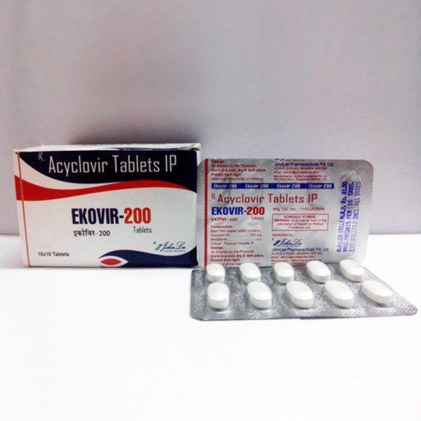 Ekovir Acyclovir (Zovirax)