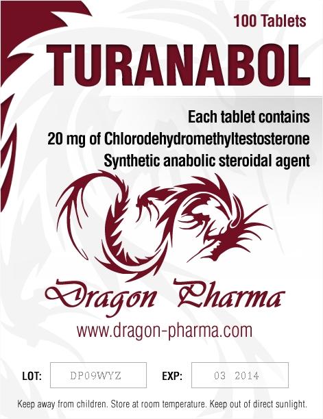 Turanabol Turinabol (4-Chlorodehydromethyltestosterone)